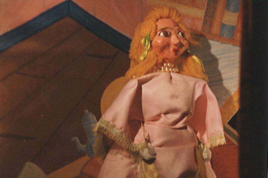 Castelet de marionnettes