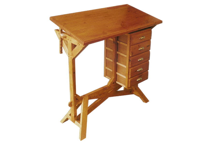 Bureau table à dessin