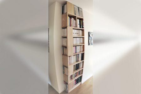 Petite Bibliothèque De Frêne